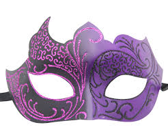 masquarade mask and black masquerade mask with glitter