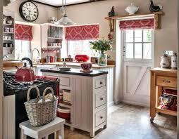 cuisine style cottage anglais exemple cuisine decoration rustique meuble bois style