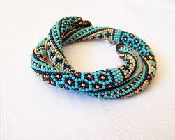 bracelet crochet beads images Bead crochet rope bracelet ideas jpg