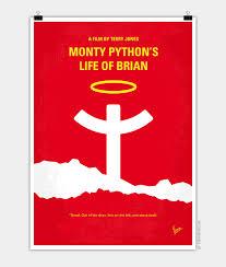 no182 my monty python life of brian minimal movie poster chungkong