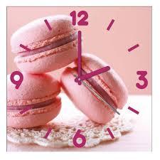 horloges cuisine cuisine macarons framboise