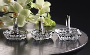 silver crystal ring holder images Waterford round ring holder jpg