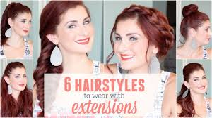 what type of hairstyles are they wearing in trinidad 6 hairstyles to wear with extensions youtube