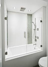 Tub With Shower Doors Tub Shower Combo Design Pictures Remodel Decor And Ideas Page