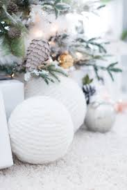 fabulous winter decor giant snowball spheres make great