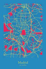 Madrid Map 132 Best Mapas Images On Pinterest Vintage Maps Antique Maps