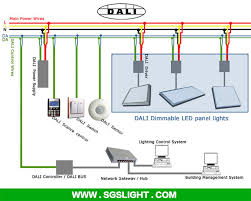wiring diagram dali lighting control wiring diagram dali