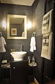 graceful half bathroom ideas with vessel