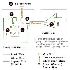 power light switch wiring diagram diagram and circuit