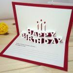 diy pop up birthday card birthday card templates free premium