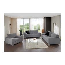 salon fauteuil canape ensemble salon fauteuil canapé 2 places canapé 3 places tissu