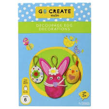 Easter Decorations In Tesco by Buy T Go Create Easter Decoupage Egg Decorations From Our Textile