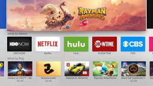 review apple tv brings iphone like apps to the big screen la times