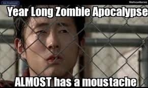 Glenn Walking Dead Meme - bad luck glenn weknowmemes