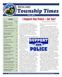 township times richland township