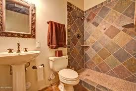 Rustic Bathroom Tile - rustic full bathroom with pedestal sink in glendale az zillow