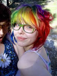 rainbow color hair ideas rainbow colored hair rainbow colored hair ideas