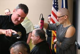 tulsa county sheriff u0027s office deputies shave their heads for