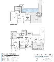 Trellis Plan St Patrick U0027s Residences Penthouse