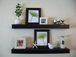 Wooden Wall Display Cabinets Shelf Futuristic Wall Display Shelf For Added Storage Wall