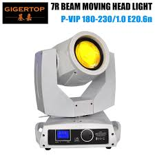 platinum led video light tiptop 230w platinum spot 5r moving head light dmx scanner light