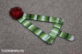 popsicle stick tree ornament