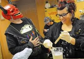 special effects makeup classes nyc class gives frightening look to its students pittsburgh post gazette
