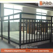 new balcony railing cover with aluminum railings for outdoor