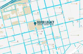 Bank Of America Map by Silver Legacy Resort Casino Eldorado Resorts