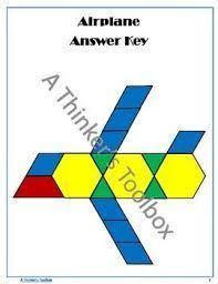 pattern blocks math activities pattern blocks transportation puzzles pattern blocks math and