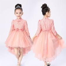bl129a 2017 lasted design top quality princess long sleeve dresses
