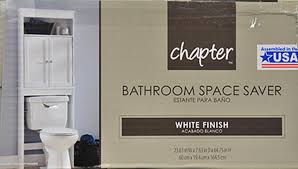 Bathroom Space Saver Furniture Hawthorne Place Wood Space Saver White Walmart Com