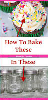 Cupcake Canisters For Kitchen Mason Jar Cupcakes Easy Diy Cupcakes In A Jar Involvery