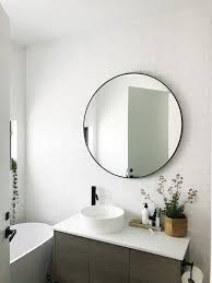 Black Mirror Bathroom Mirror For Bathroom Black Framed Bathrooms Inside 19