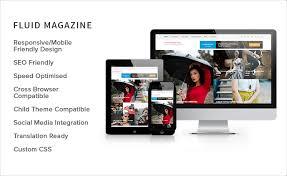 design magazine site top 5 free and professional magazine wordpress themes in june 2017