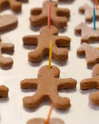 where your treasure is cinnamon salt dough ornaments