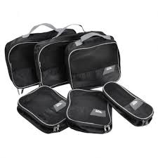 Cabin max set of 6 packing cubes perfect travel organisers