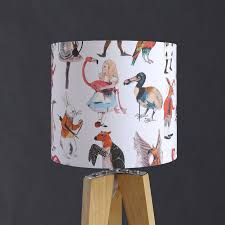 Alice In Wonderland Character Lampshade By James Barker