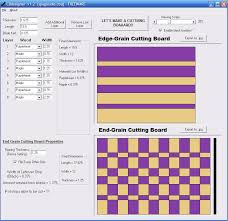 Free Woodworking Design Software Download by Cutting Board Design Software The Wood Whisperer