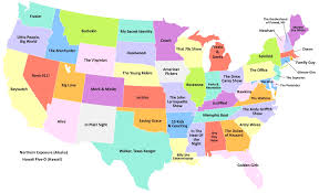 united states map with state names and capitals popular 184 list map of united states with capitals