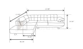 How To Read Dimensions Sofa Dimensions Sofa