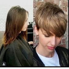 Frisuren Lange Haare Vorher Nachher by Die Besten 25 Bilder Kurzen Frisuren Ideen Auf