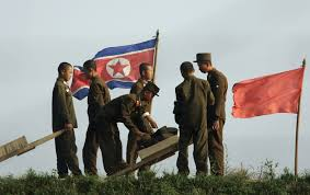 Soldier With Flag The Sad State Of North Korea U0027s Starving Soldiers The Epoch Times