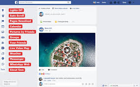 fave new features and design for facebook chrome web store