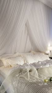 download wallpaper 750x1334 bedroom bed white candles romance