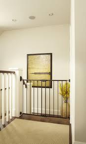 Munchkin Baby Gate Banister Adapter Amazon Com Easy Swing U0026 Lock Gate Bronze Fits Spaces Between
