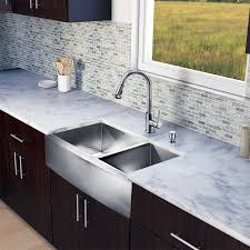 Vigo Stainless Steel Pull Out Kitchen Faucet Beautiful 36 Inch Kitchen Sink With Stainless Steel Sinks