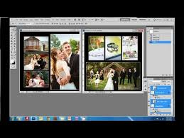 Wedding Album Companies How To Create A Wedding Album In Photoshop Youtube