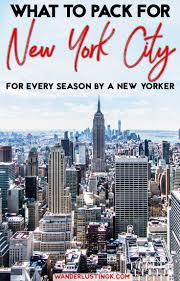 New York Travels images What to wear in new york city a new york city packing list jpg