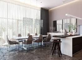 kitchen and dining interior design breathtaking modern kitchen and dining room design gallery best
